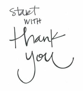 start thanks